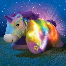 "NEW Glow Pets Large 16"" SPARKLING UNICORN Pillow Pet As Seen on TV"