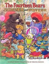 The Fourteen Bears in Summer and Winter (Deluxe Golden Book) by Scott, Evelyn