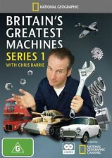 National Geographic: Britain's Greatest Machines - Series 1 NEW R4 DVD