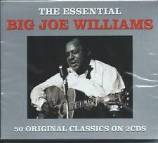 Big Joe Williams - The Essential...Best Of...Greatest Hits (2CD 2013) NEW/SEALED