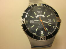 Pre Owned Europen   VOSTOK Man's Watch Black Dial Plate,24 H Dial Window.Movemen