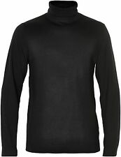 Matinique Parcusman Merino Wool Rollneck Jumper/Black - XXX Large