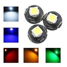 10pcs 12v T4.7  5050 1SMD LED Dashboard Gauge Dash Side Light Lamp Bulb for Car
