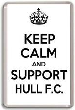 KEEP CALM AND SUPPORT HULL FC. HULL F.C. RUGBY TEAM Fridge Magnet