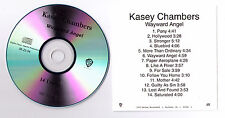 Kasey Chambers Wayward Angel US promo acetate CD R Pony Like a River Hollywood
