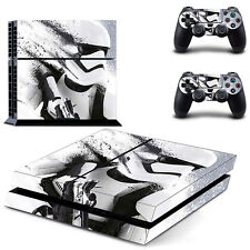 Star Wars White Cover Skin Sticker for PS4 PlayStation 4 & 2 controller skins
