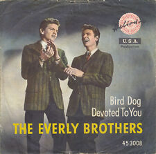 "7"" - THE EVERLY BROTHERS - BIRD DOG / DEVOTED TO YOU - Heliodor 453008 - DE 1958"