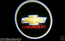 NO DRILL 2 x LED Logo Light Ghost Shadow Projector Car Door Laser for CHEVROLET