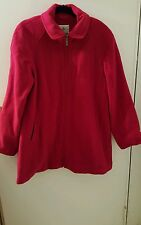 Weather Tamer Swing Coat Red Large