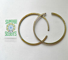 175 cc 62 mm PISTON RINGS. SET OF TWO X 2.5mmSUITABLE FOR LAMBRETTA SCOOTERS