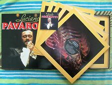 Luciano Pavarotti-Self Titled-8LP Box Set '92 Readers Digest/Decca Oz-RDR4/550/0