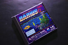 DARIUS ALPHA LIMITED PC Engine HuCARD JAPAN Excellent.Condition !