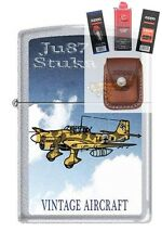 Zippo 205 JU87 Stuka German WW2 Lighter + FUEL FLINT WICK POUCH GIFT SET