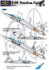 LF Models Decals 1/48 F-5B FREEDOM FIGHTER OVER SPAIN Part 1