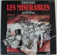 Les Misérables 33 tours Hossein Magne 1982 Gourmelin