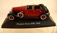 Kiosque Hispano Suiza H6C 1934 Musée en boîte 1/43