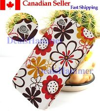 Charming Flower Silicone Case Cover Back Skin for Apple Iphone 4 4S