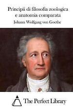 Principii Di Filosofia Zoologica e Anatomia Comparata by Johann Wolfgang von...