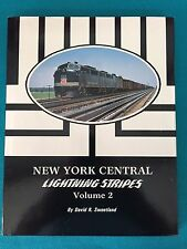 043 New York Central Lightening Stripes Volume 2 Morning Sun Book NEW