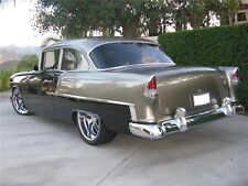 55 Chevy 2 Door 210 Stain.Steel 8 Part Side Molding Set Show Quality