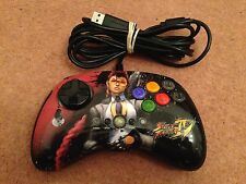 CRIMSON VIPER MAD CATZ STREET FIGHTER IV 4 FIGHT PAD XBOX 360 CONTROLLER VGC