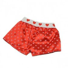 "Red Heart boxers boxer shorts teddy clothes to fit 15"" build a bear plush teddy"