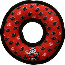 VIP Products Tuffy's Red Paw Ring Dog Toy