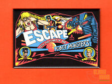 """Escape from the Planet of the Robot Monsters 2x3"""" fridge/locker magnet marquee"""