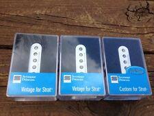 Seymour Duncan SSL-5 Custom & SSL-1 Vintage for Strat Pickup Set White