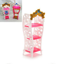 Kids Play House Mini Shoe Cabinet for Barbies Classic Dollhouse Furniture FOUK