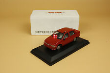 1:38 China Xiali diecast model red color