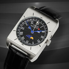 Swiss Master Moon Phase Multi-Function Mens Watch