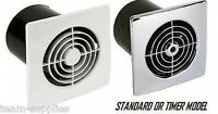 """Manrose 4"""" Low Lo Profile Extractor Fan Wall / Ceiling"""