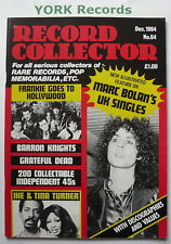RECORD COLLECTOR MAGAZINE - Issue 64 December 1984 - Frankie Goes To Hollywood