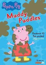 Peppa Pig Muddy Puddles DVD New/Sealed!! 10 Episodes!! Nick Jr Show!