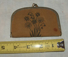 VINTAGE SNAP CLOSE PURSE SEWING KIT , SCISSORS , TAPE MEASURE , PINS , BUTTONS