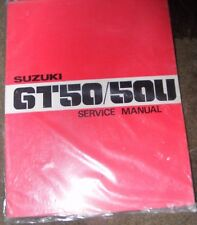 SUZUKI GT50 / 50U SERVICE MANUAL  1977