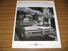 1968 Vintage Ad The '68 Pontiac Bonneville Luxury Wide-Track