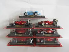 LOT OF 7 MODELS 1/43 FERRARI F1 collection  (Gazzetta dello sport)