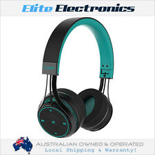 BLUEANT PUMP SOUL ON-EAR WIRELESS BLUETOOTH HEADPHONES W/ ONE TOUCH CONTROL TEAL