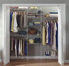 ClosetMaid 1608 5ft. to 8 Ft. Closet Organizer Kit White ClosetMaid
