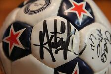 Holy Grail Soccer Ball Autographed By 9 Tampa Bay Rowdies Nasl Fifa Cup Wow!