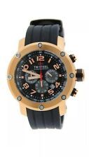 TW Steel Canteen Chronograph Rose Gold Tone Stainless Steel Watch TW130