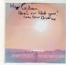 (DK435) Bear Driver, The Only Way To Swim - DJ CD