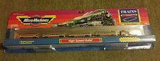 Vintage Micro Machines Train Set Galoob TGV Orange Bullet Train (1989) NIB