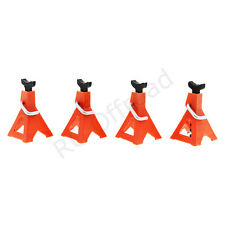 RC 4pcs Jack Stand 6 TON Scale 1:10 Red