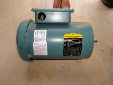 N.O.S. INVERTER READY BALDOR VUHM3538 .5 HP/1/2 HP 3 PHASE ELECTRIC MOTOR1725RPM