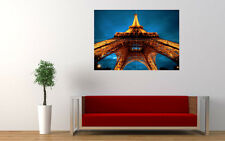 EIFFEL TOWER LIGHTS NEW GIANT LARGE ART PRINT POSTER PICTURE WALL