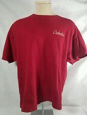 Cabela's Mens RED T-shirt Size XLarge, 2nd Amendment guns