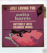 45 RPM SP ANITA HARRIS JUST LOVING YOU (1967)